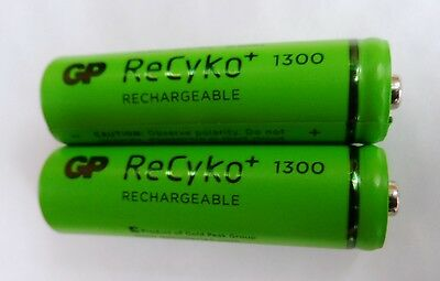 2 x BT Baby Monitor 100 Rechargeable Batteries AA 1300mAh 1.2V