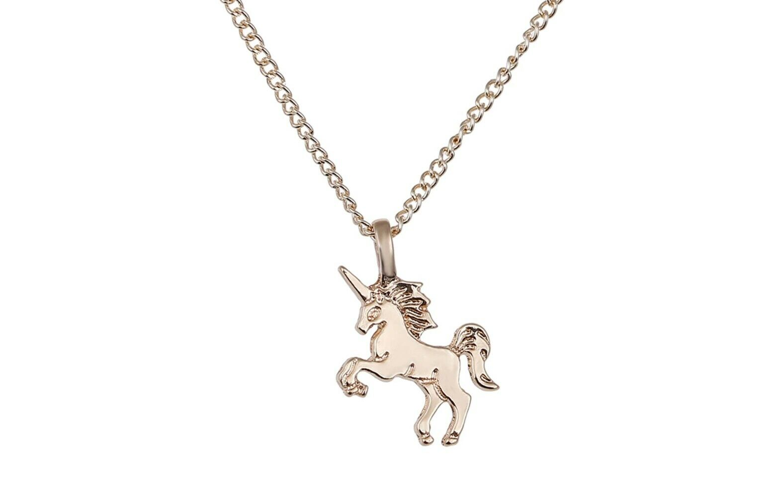 Jewellery - UNICORN GOLD charm Pendant necklace Girls Party Bags fillers Jewellery gift