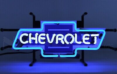 Chevrolet Bowtie Neon Sign - GM - Chevy - Parts - Camaro - Corvette - -