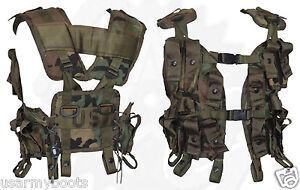 Made-in-US-Army-Military-Tactical-Grenade-Carrier-Load-Bearing-Cargo-LBV-GI-Vest