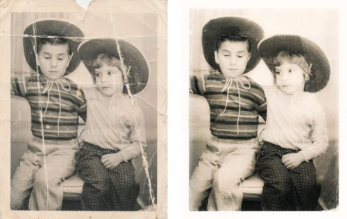 Professional Photo Retouching, Old Photo Restoration, Vintage Photo Enhancement