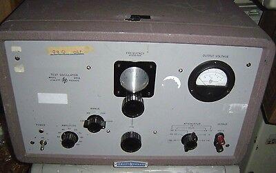 Hp Hewlett Packard Test Oscillator Model 650a 650 A