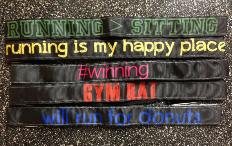 5 Pack! StayHair No/Non-slip sweaty Headbands Velvet bands Running Sport ALL 5
