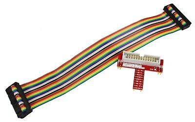 COM-FOUR® GPIO Breakout Exp. Kit 26 Pin Adapterplatte + GPIO Kabel Raspberry A/B - Adapter Breakout-kabel