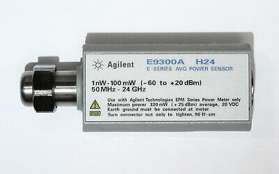 Hp Keysight E9300a E-series Avg Power Sensor 50mhz-24ghz -60 To 20dbm Opt H24