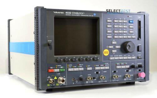 WAVETEK SCHLUMBERGER STABILOCK 4032 SERVICE MONITOR ****LOOK**** (REF.: G)