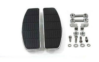 Adjustable D Floorboards for Male Mount Foot Pegs Harley Softail Dyna Sportster