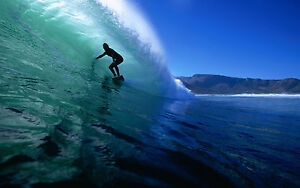 SURFING-Photo-Poster-Print-Wall-Art-Large