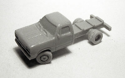 N-Scale 1/160 Willmodels '78 Dodge Cab/Chassis Resin Kit