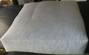 Custom Size Replacement Feather and Foam Core Wrap Sofa Cushions