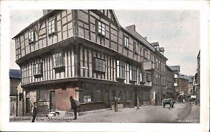 Shrewsbury-Butchers-Row-1717-by-Wilding-Coloured