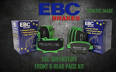 NEW EBC GREENSTUFF FRONT AND REAR BRAKE PADS KIT PERFORMANCE PADS PADKIT1030