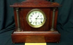 Antique Seth Thomas Sonora 4 Bells Chimes Mantle Clock Label No. 295 G