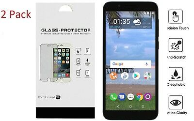 For Alcatel TCL LX A502DL 2Pack Tempered Glass Screen Protector