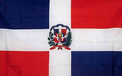 DOMINICAN REPUBLIC   3' x 5' Polyester Banner Flag