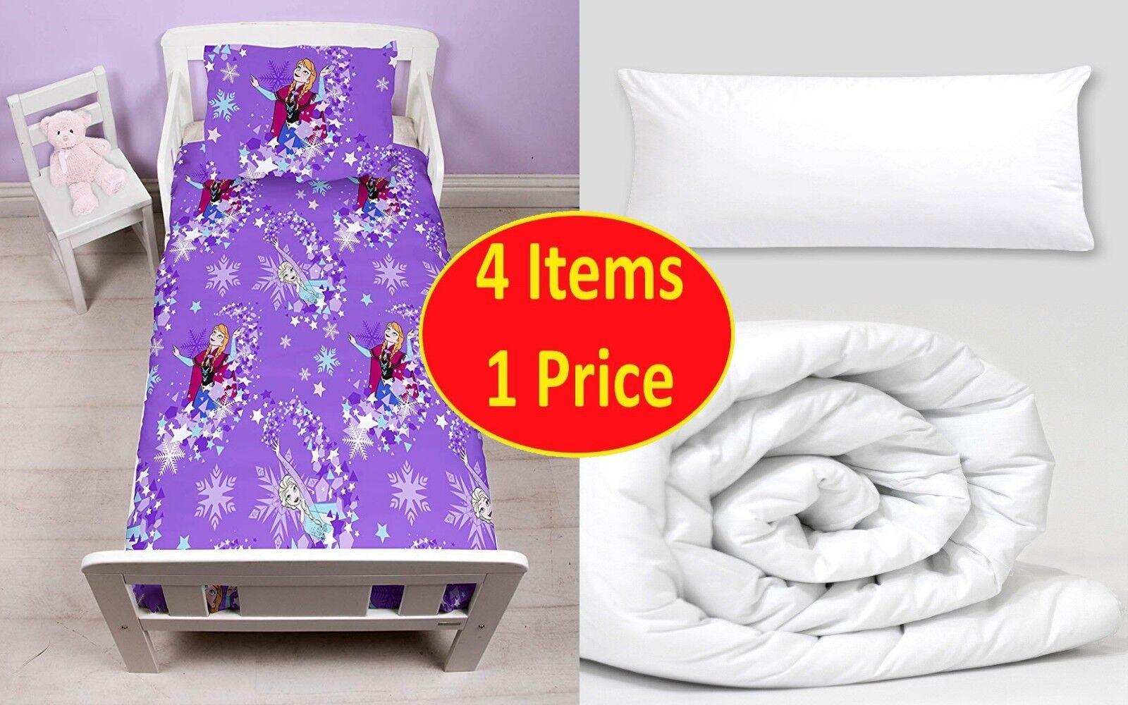 4 in 1 transparent junior bedding bundle