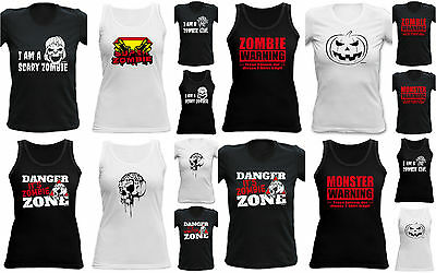 - Damen Halloween T Shirts
