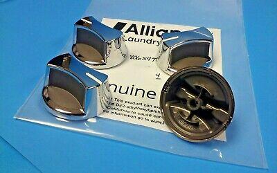 Genuine Alliance Speed Queen 806597 Chrome Knob *NEW* $14.60