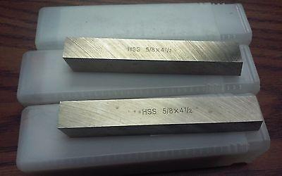 10pcs 58 X 58 X 4-12 Hss Square Tool Bits For 58.00 Hs-2bt-58---new