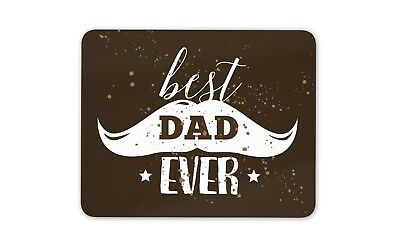 Best Dad Ever Mouse Mat Pad - Daddy Father's Day Father Fun Gift Computer #8687