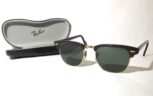 Ray-Ban Bausch & Lomb Clubmaster Sunglasses with case