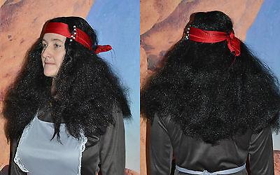 Perücke, Fluch der Karibik Captain Jack Sparrow Captain, - Fluch Der Karibik Halloween