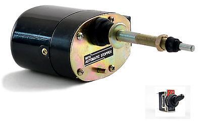 Wischermotor 12 V Wischwinkel 110 Grad mit Kippschalter Scheibenwischer Boot