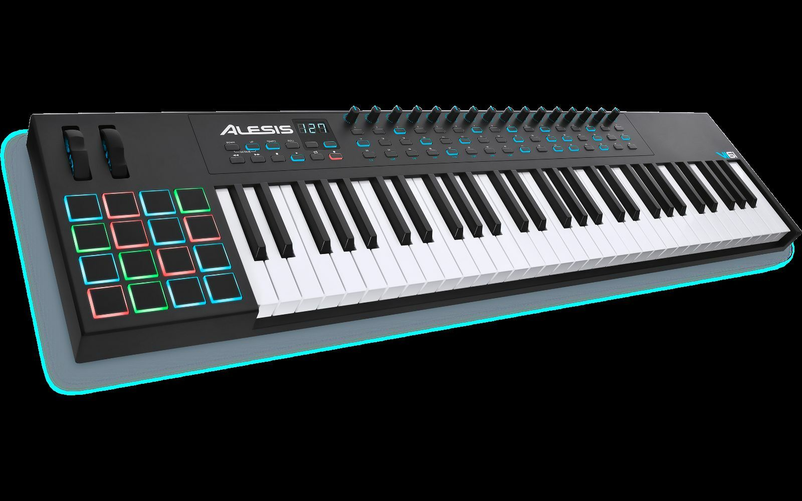 alesis vi61 61 key usb midi keyboard controller ebay. Black Bedroom Furniture Sets. Home Design Ideas