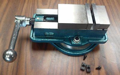 3 Ang-lock Milling Machine Vise W. Swivel Base 850-300-- New