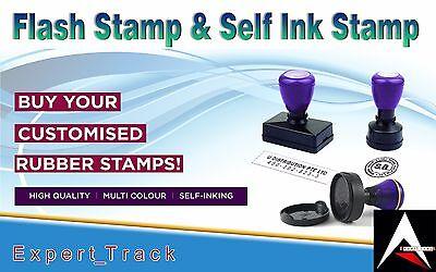 Personalized Custom Self Inking Rubber Stamp - (Custom Frame Malaysia)