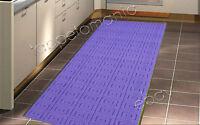 Tappeto Cucina Bagno Lilla,lavabile In Lavatrice,antiscivolo,tappeto Bagno Ebay -  - ebay.it