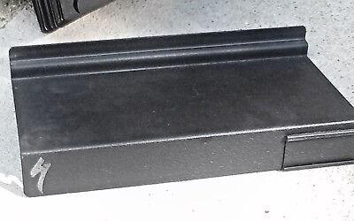 6 Slatwall Metal Shelves 11-14wx5-14d Shoe Display Fixture Blk Specialized