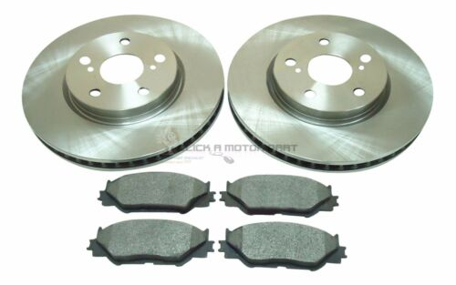LEXUS IS220 IS220d DIESEL IS250 2005-2011 MINTEX FRONT 2 BRAKE DISCS & PADS NEW