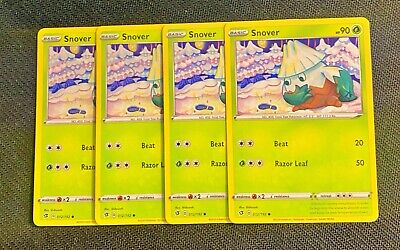 Sword /& Shield Common Card Pokemon Snover 012//192Rebel Clash