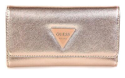 Guess Damen Geldbörse Portemonnaie Wallet Börse Brieftasche gold
