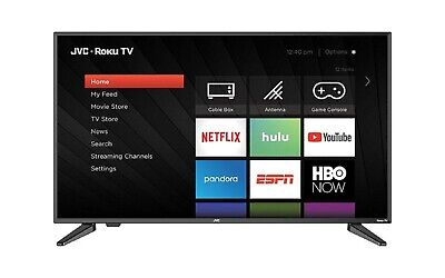 "JVC 40"" Class FHD (1080P) Roku Smart LED TV (LT-40MAB588)"