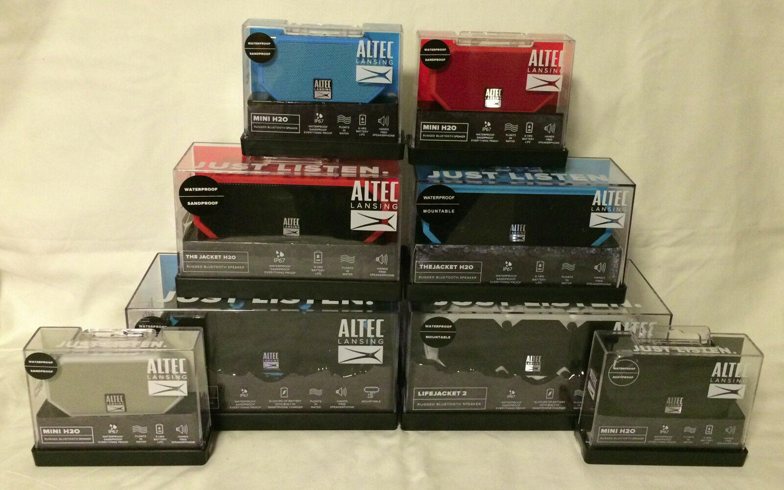 Altec Lansing IMW577 LifeJacket 2 Floating Portable Waterpro