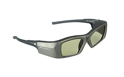 "Dualplay 3D Brille ""Oxid Diamond"" für aktive 3D Full HD / HDR / 4K TV 