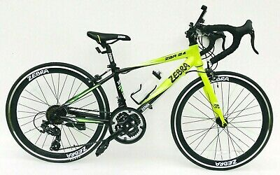 "Road bike  24"" wheels 21 shimano gears lightweight alloy frame kids bike"