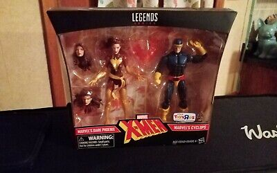 Marvel Legends Dark Phoenix 2 Pack Toys R Us exclusive Jean Grey Cyclops MISB
