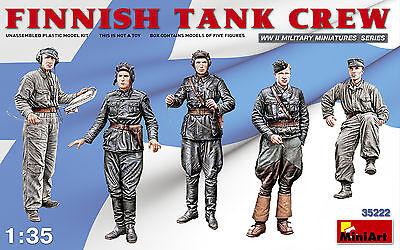 MINIART 35222 WWII Finnish Tank Crew Figuren in 1:35