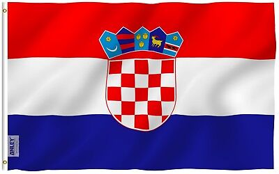 ANLEY [Fly Breeze] 3x5 Foot Croatia Flag - Vivid Color and UV Fade Resistant