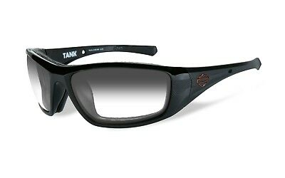 Harley-Davidson® Wiley-X Black Light Adjusting Motorcycle Sun-glasses (Light Adjusting Sunglasses)