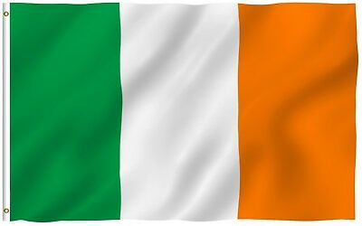 ANLEY Irish Flag Ireland National Banner Polyester 3x5 Foot Country Flags