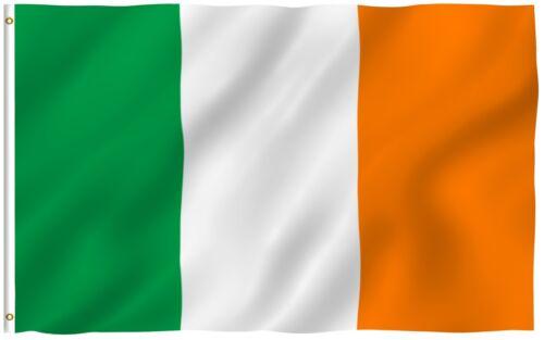 ANLEY Irish Flag Ireland National Banner Polyester 3x5 Foot