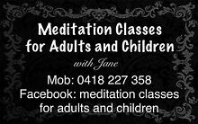 MEDITATION CLASSES FOR ADULTS & CHILDREN WITH Jane Revesby Bankstown Area Preview