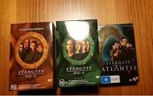 Stargate SG1 Season 2 & 3, Stargate Atlantis Season 1, $15 each Shortland Newcastle Area Preview