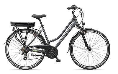 Gebraucht, Zündapp E-Bike 28 Zoll Damen Elektrofahrrad 21-Gang Trekking Pedelec - Green 4.5 gebraucht kaufen  Birkenfeld