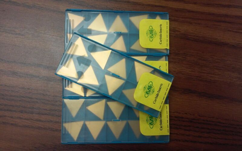 40pcs TPG431 Carbide Inserts Tin Coated  free shipping-new
