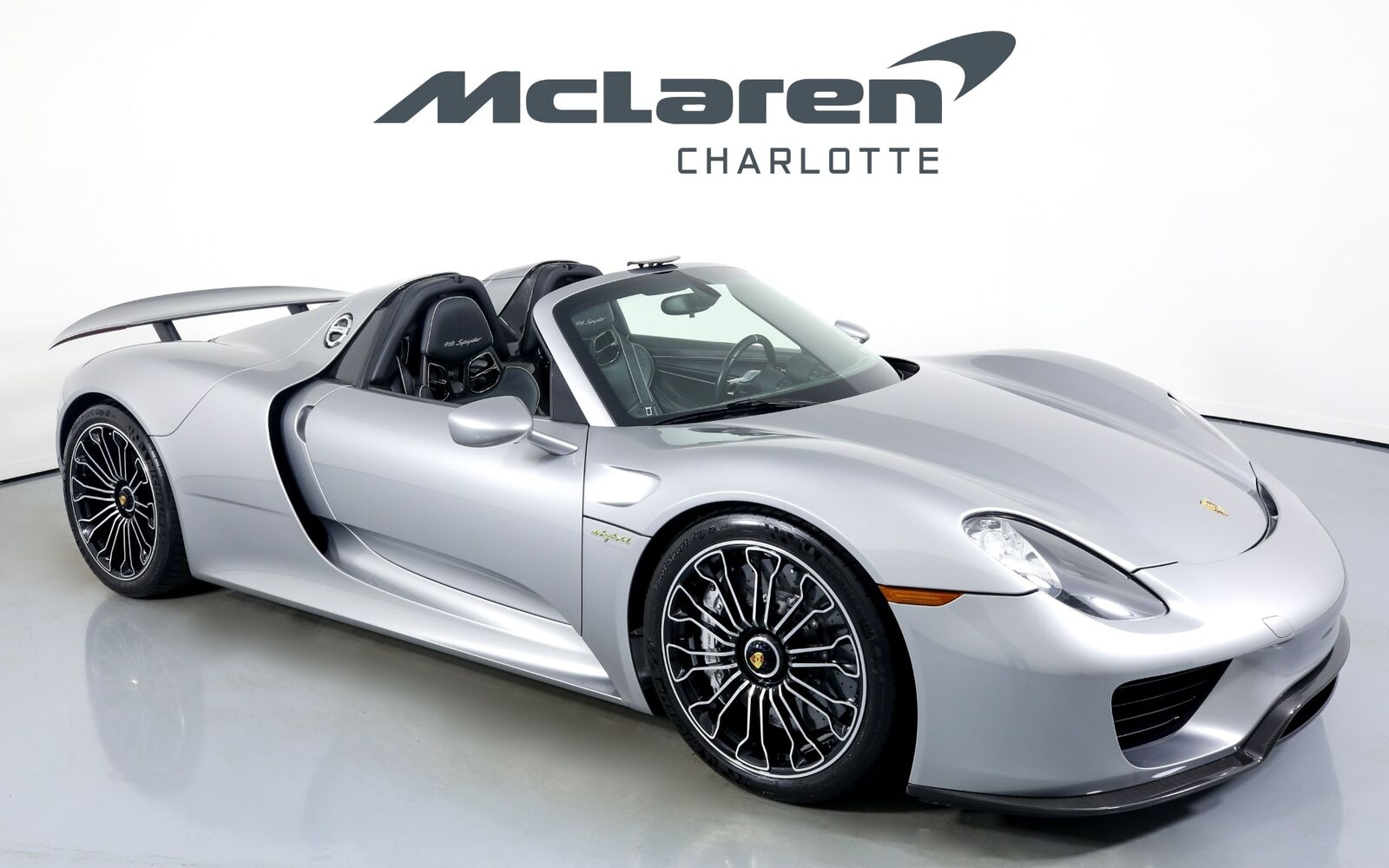 2015 Porsche 918 Spyder, GT Silver Metallic with 5984 Miles available now!